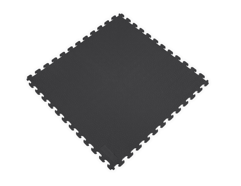 PVC Garage Floor Tiles - Rhino Tec – Black