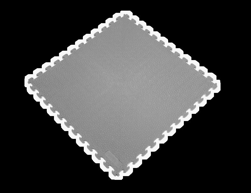 PVC Garage Floor Tiles - Rhino Tec – Gray