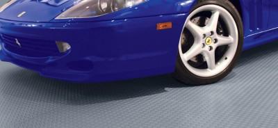 Garage flooring rolls