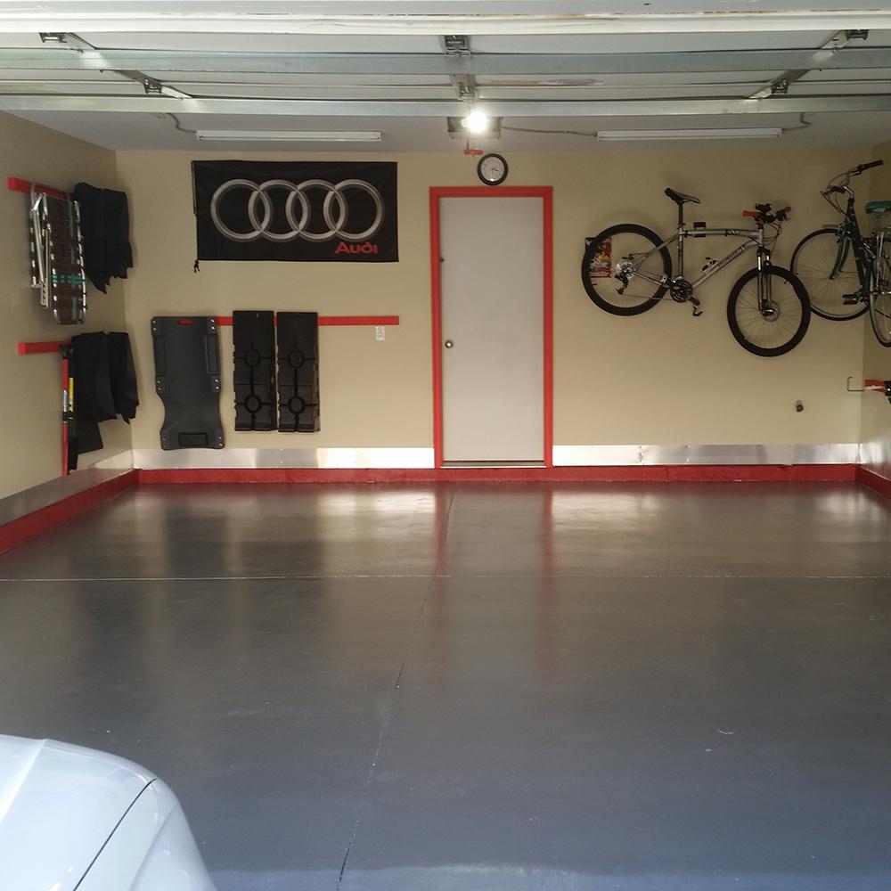 Garage: Metallic Gray