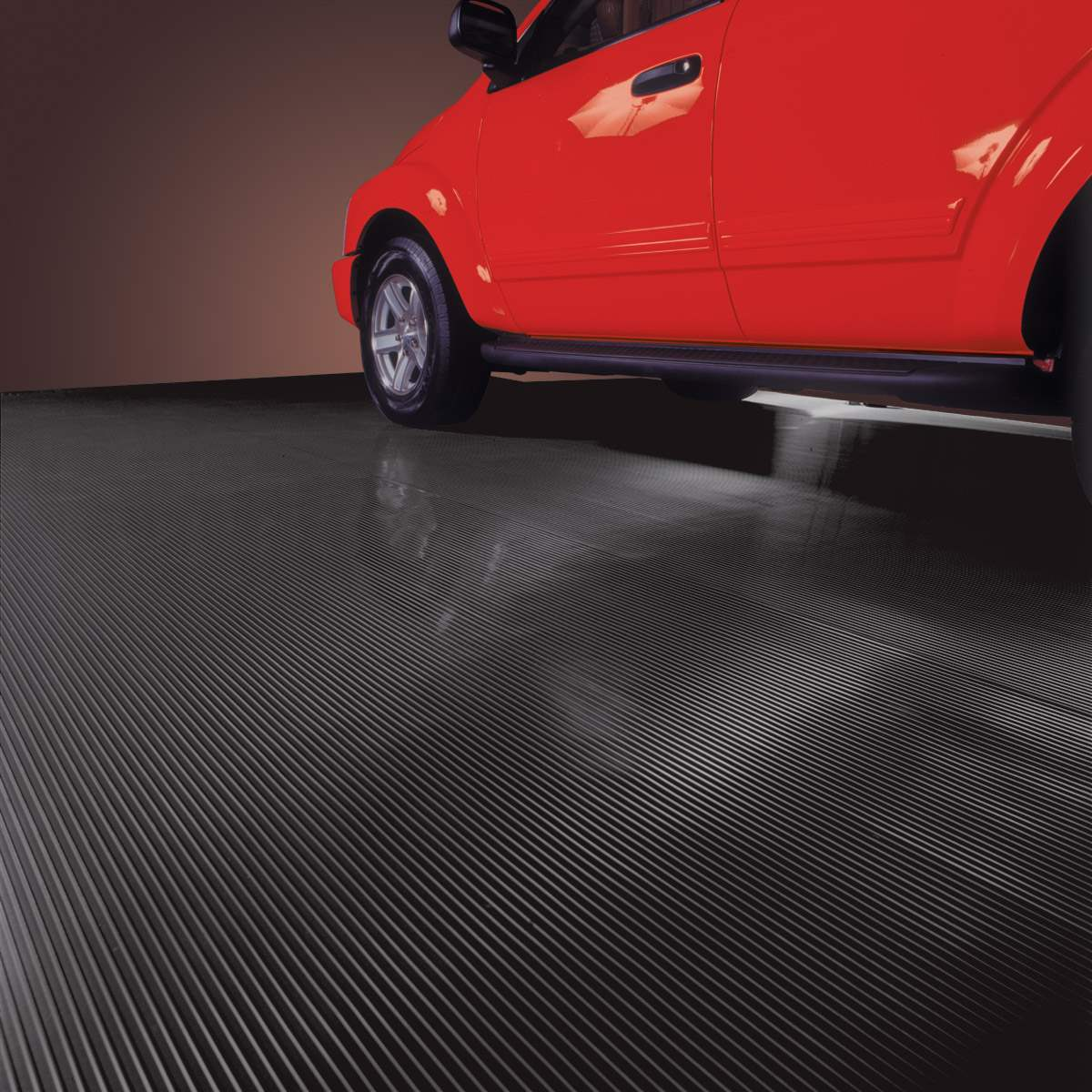 Blt Ribbed Roll Garage Floor Mats
