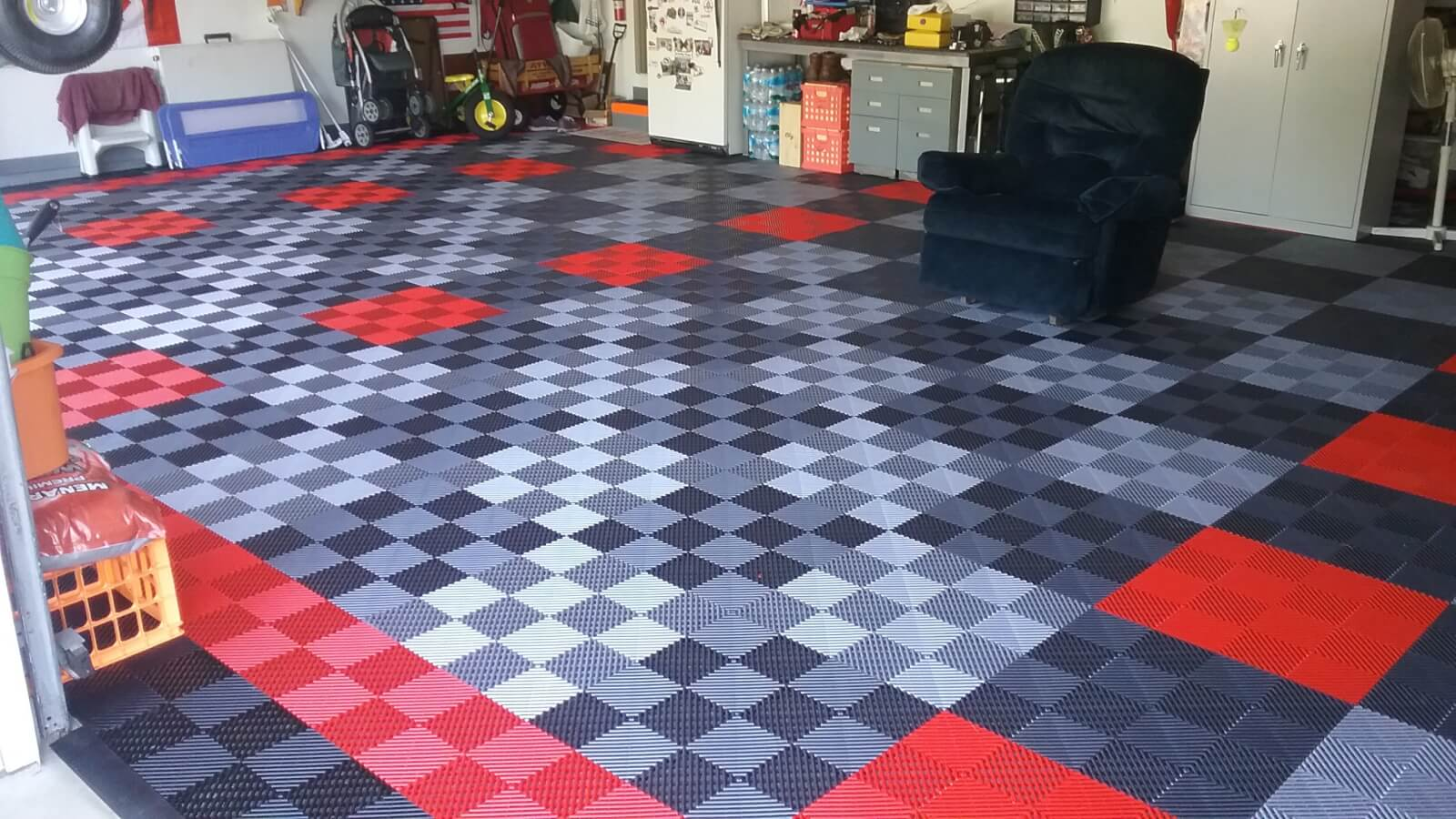 Not Cheap Garage Floor Tile... Affordable $1.99