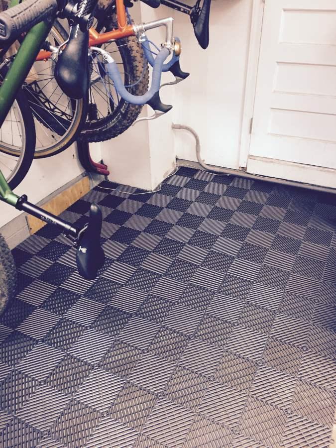 Pictures Garage Floor Tiles Wood Shop Work Shop