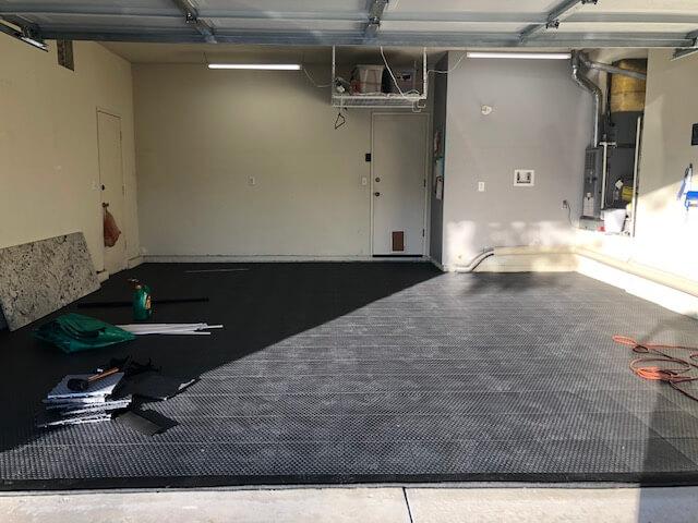TrueLock HDXT Coin Tiled Garage