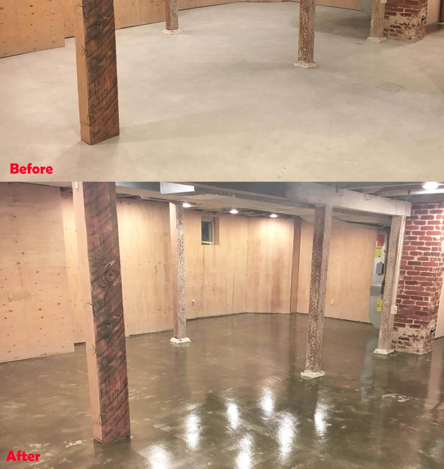 Clear Polyurea Project - GarageFlooringLLC com