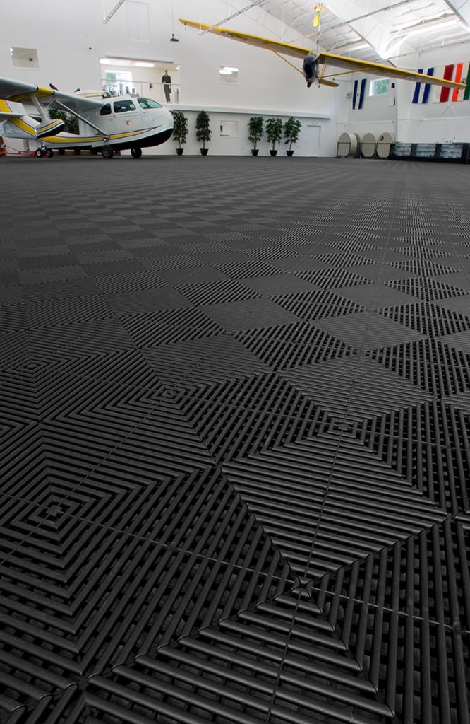 Rubber Garage Floor Tile Interlocks With Our Premium