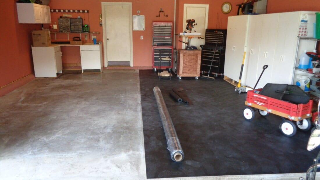 BLack BLT Rollout Flooring