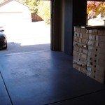 empty garage