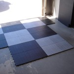 starting the garage tile