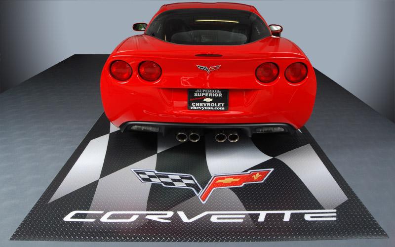 Custom Size Garage Floor Mats