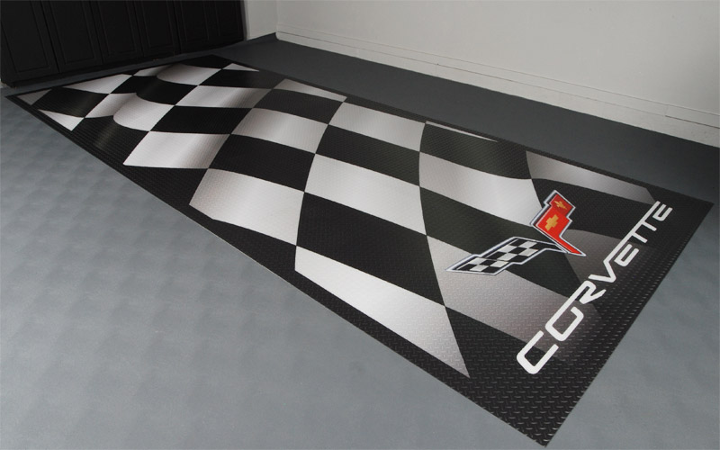 Tile Garage Floor Mats Checkerboard Tile Mats