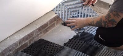 RaceDeck tile installation video
