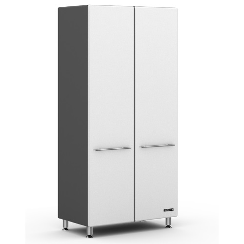 Ulti-MATE Storage  2-Door Tall Cabinet in Starfire Pearl