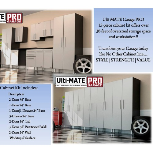 Ulti-MATE Garage PRO          15-Piece Super System