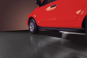 Ribbed Garage Floor Mats