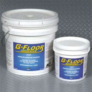 3.5 Gallon Bucket Adhesive – Covers approx. 300 to 900 Sq. Ft.. For use on Concrete
