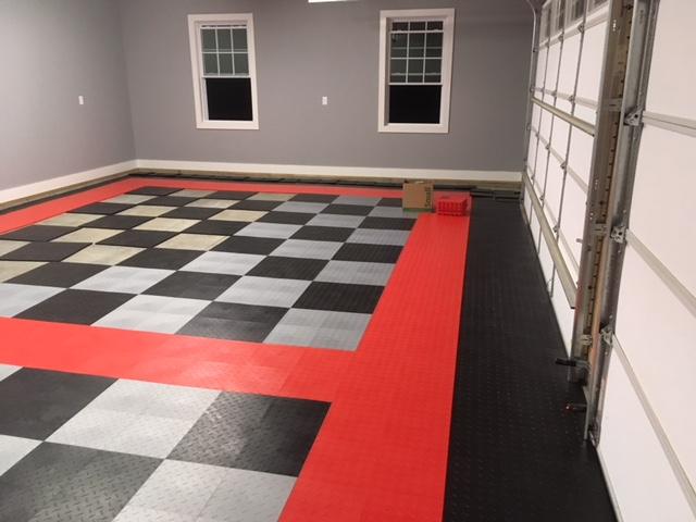 After TrueLock Diamond tiles