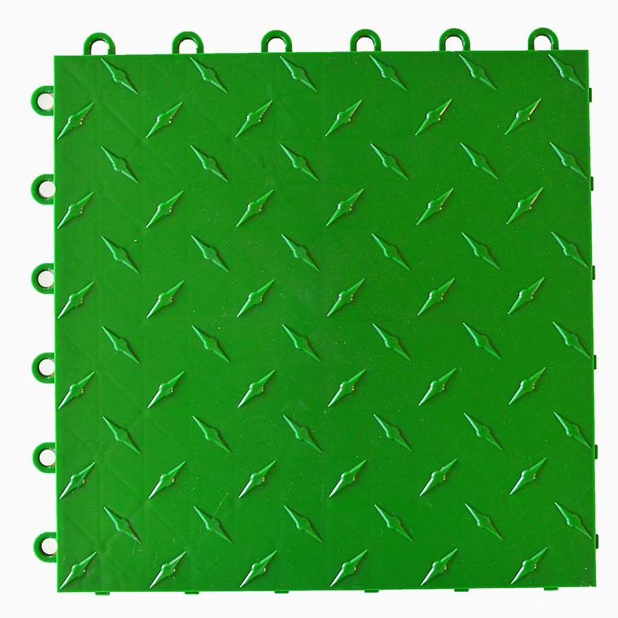 Diamond garage floor tile video review green dailygadgetfo Choice Image