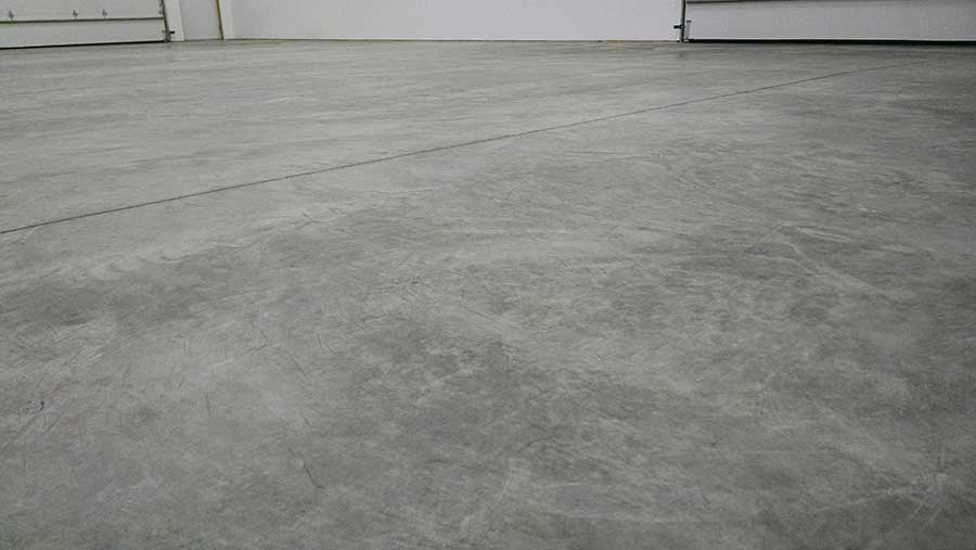part exterior compressed garage floor coating home oleum rust gray epoxyshield depot the gloss high sealer n b kit epoxy paint