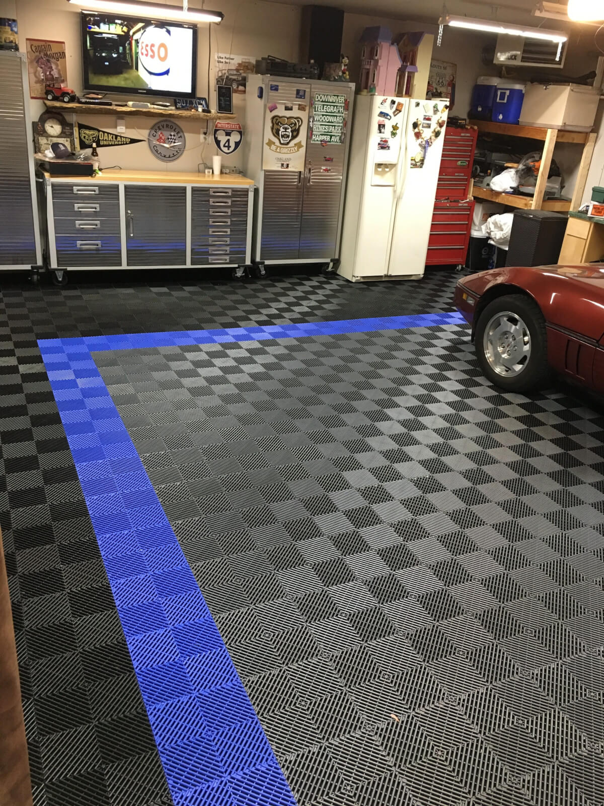 garage mat floor season id all