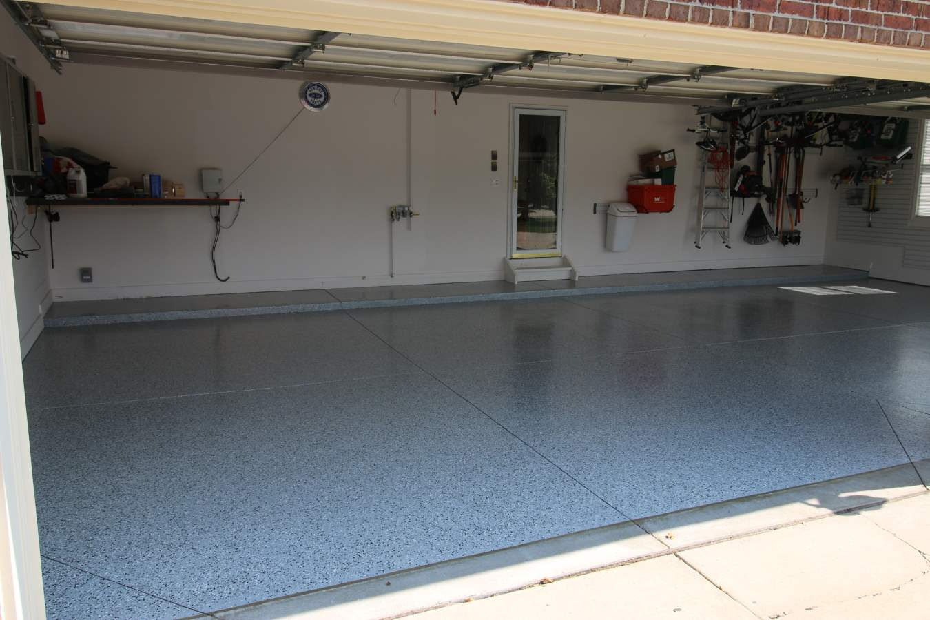 full broadcast - How To Epoxy Garage Floor