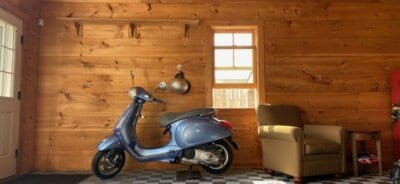 TrueLock HD Ribbed Tiles with Scooter