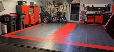 Garage Floor Tiles Coin