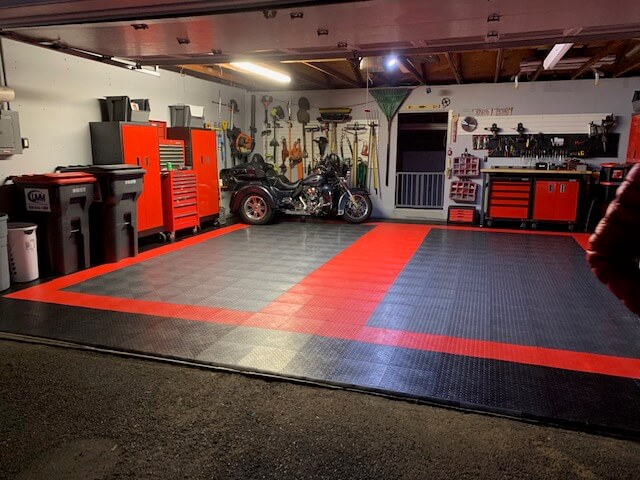 Garage Floor Tiles Coin