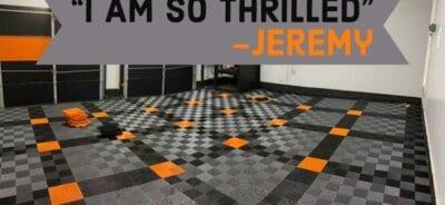 RaceDeck Ribbed Garage Floor