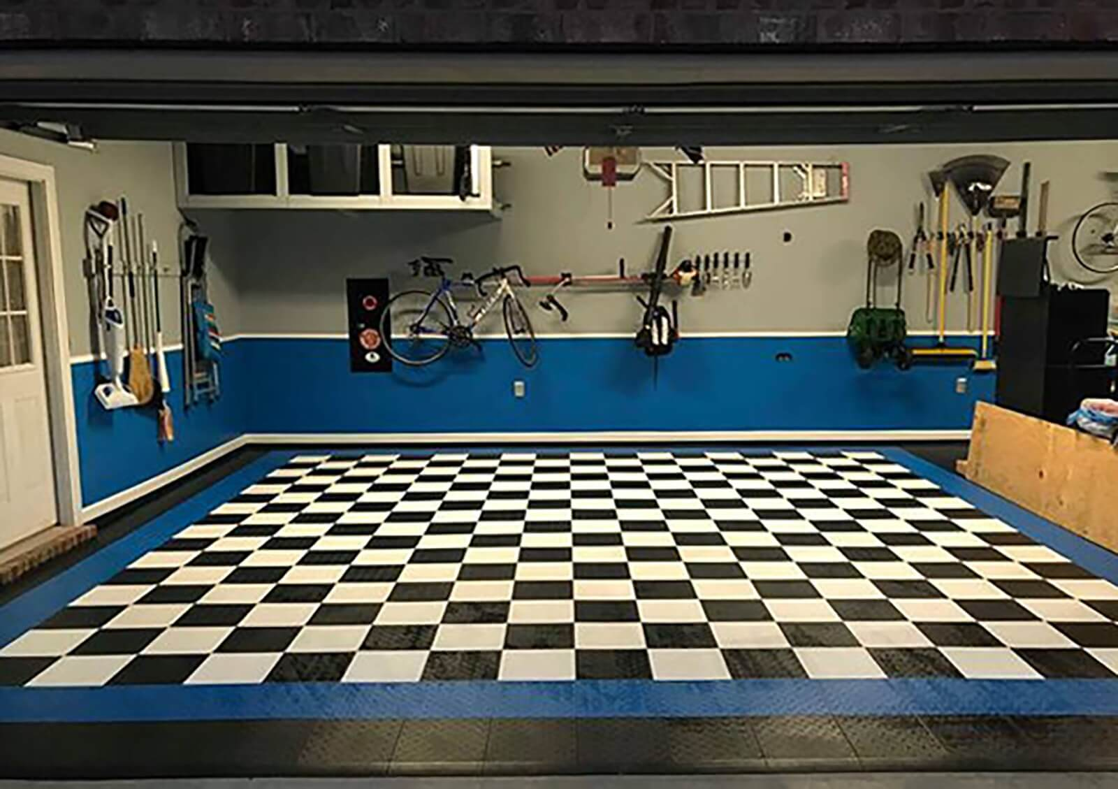 Top 3 inexpensive not cheap options for garage flooring