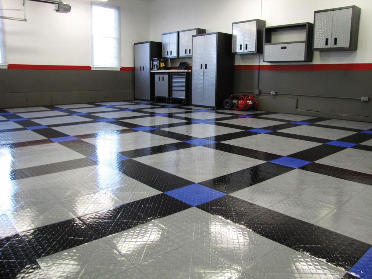 Racedeck Tuffshield Garage Flooring