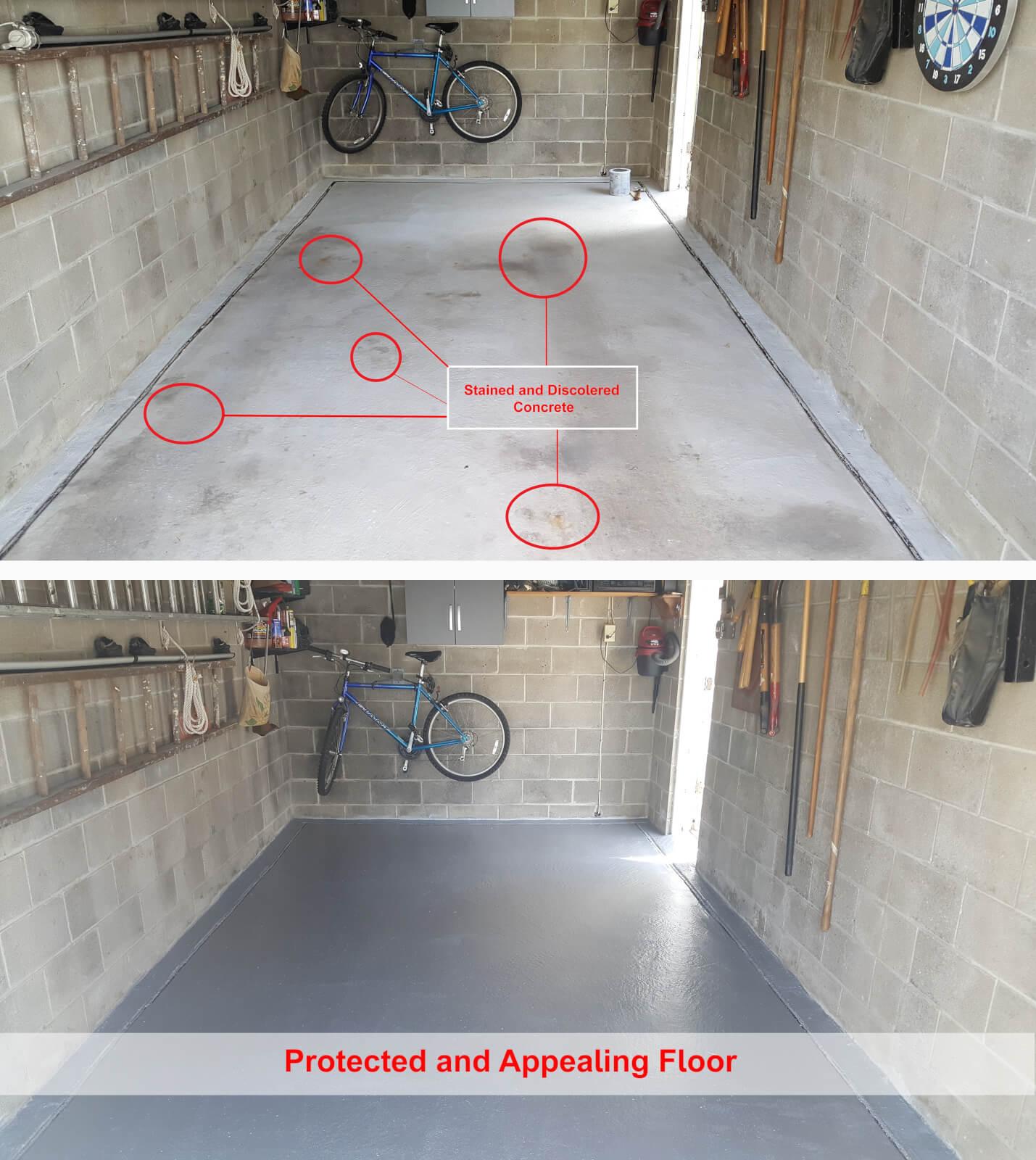 Acid Etch Concrete Garage Floor: DIY: How To Acid Etch A Garage Floor Before Epoxy #DIY