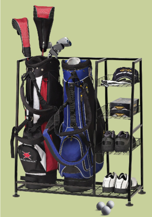 Free Shipping on Golf Organizer and Storage Rack