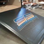 Custom Trailer Door Floor
