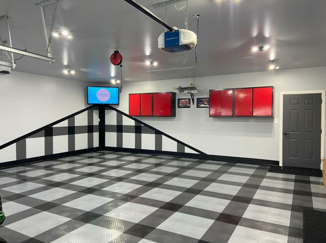 Racedeck Diamond tiles: Plaid