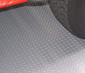 Silver under tire