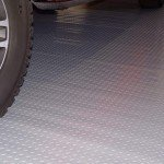 silver garage floor mat