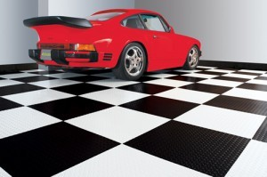 Raceday Self Stick Adhesive Garage Floor Tiles