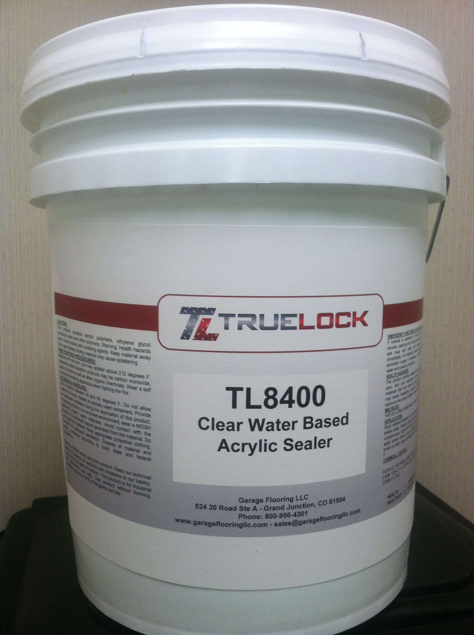 Clear Water Based Acrylic Sealer For Concrete
