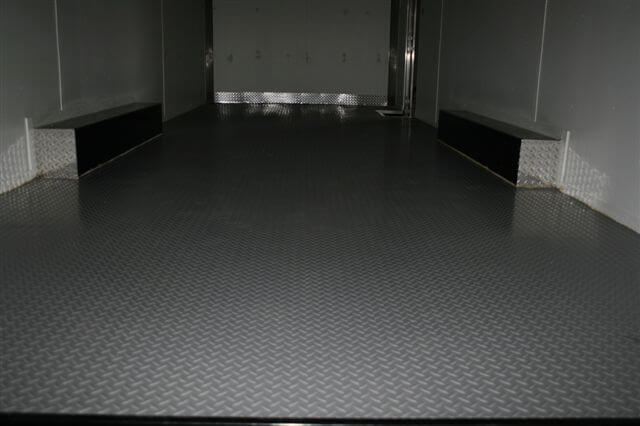 Trailer Flooring Seamless Coin Diamond Pvc Rolls