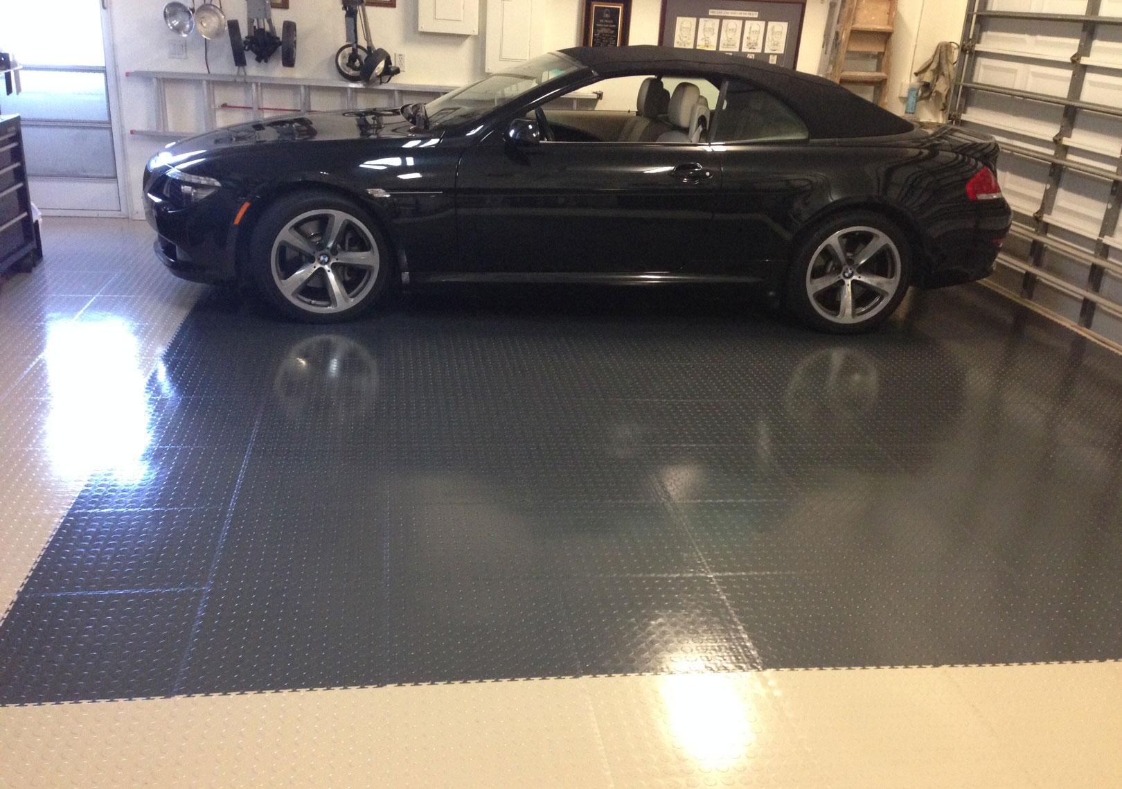 Truelock Pvc Garage Floor Tiles Industrial Strength