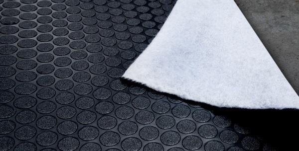 Trailer Flooring Seamless Coin Diamond Pvc Rolls