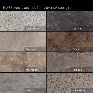 Envee Stone Color Chart