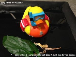 AutoFloorGuard Keeps your belongings from taking a Bath