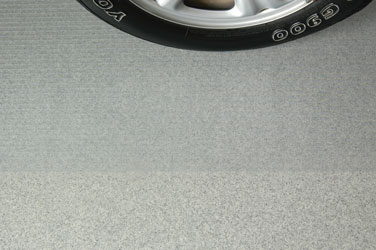 Clear Garage Flooring by G-Floor