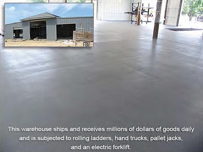 Warehouse Floor Coatings Epoxy Paint Or Urethane