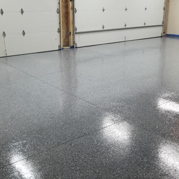 Garage flooring tiles mats rolls coatings for American garage floor
