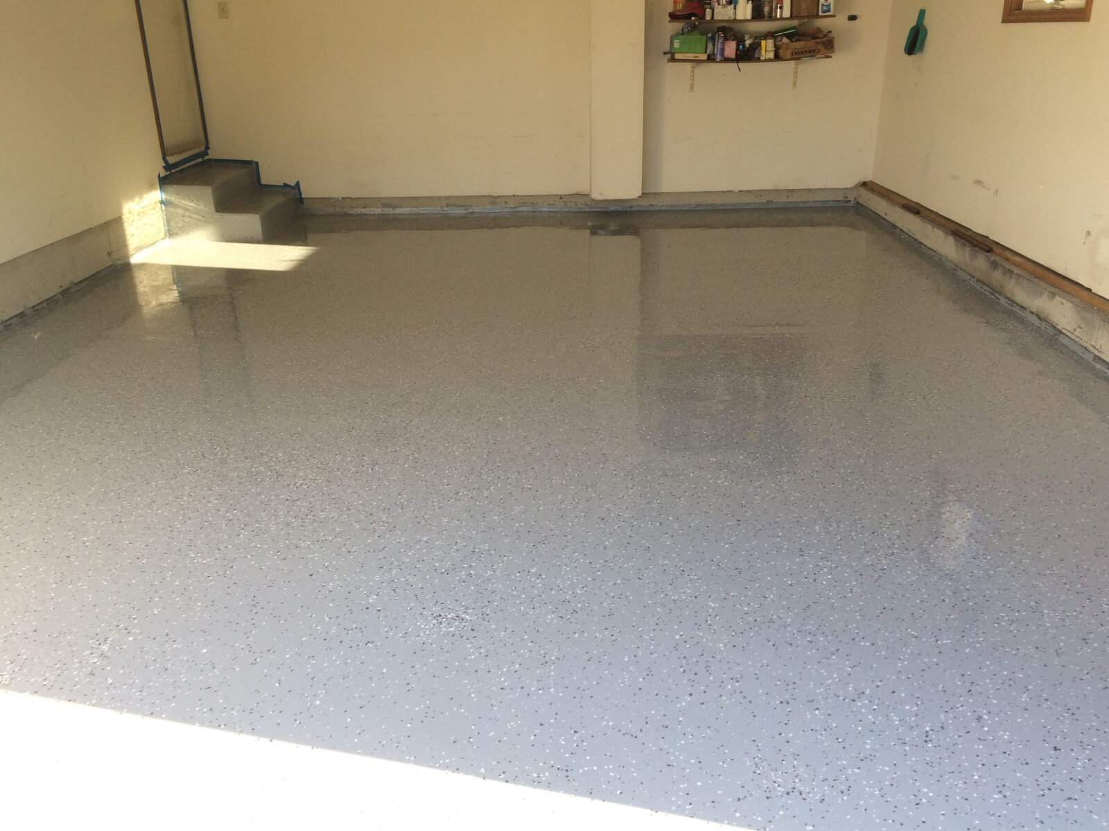 reviews cars garage coating cost best rated epoxy floor image