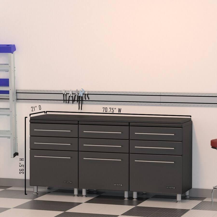 Ulti-Mate MDF Garage Storage Cabinets   GarageFlooringLLC.com