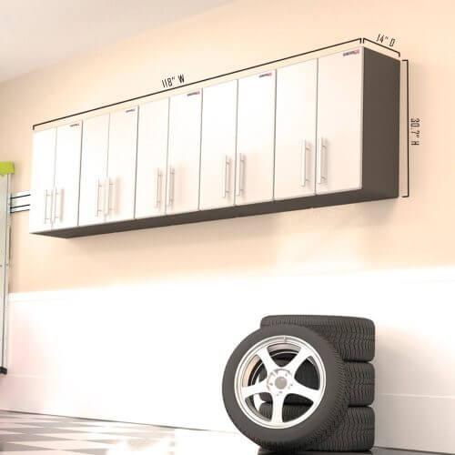 GA 095KPC Ulti MATE Garage PRO   5 Piece Wall Cabinet Kit